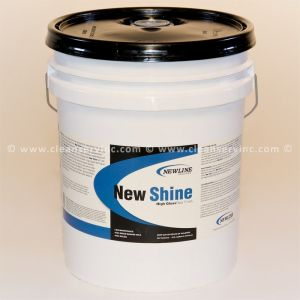 New Shine Floor Finish, 5 Gallon Pail