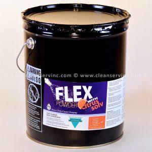 Flex Powder w/ Citrus Solv Prespray, 36 Pound