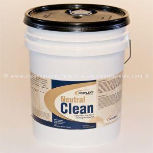 Neutral Clean Hard Surface Cleaner, 5 Gallon Pail